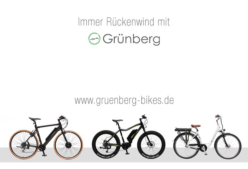 Grünberg Bikes neue Modellreihen