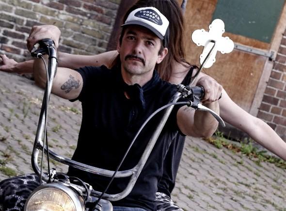 Marcus Sendlinger auf Motorbike