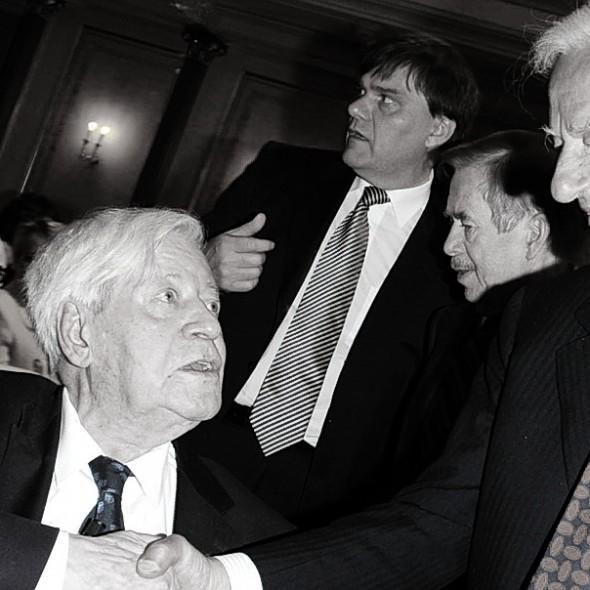 Von WeizsŠcker Geburtstag 25.04.2010