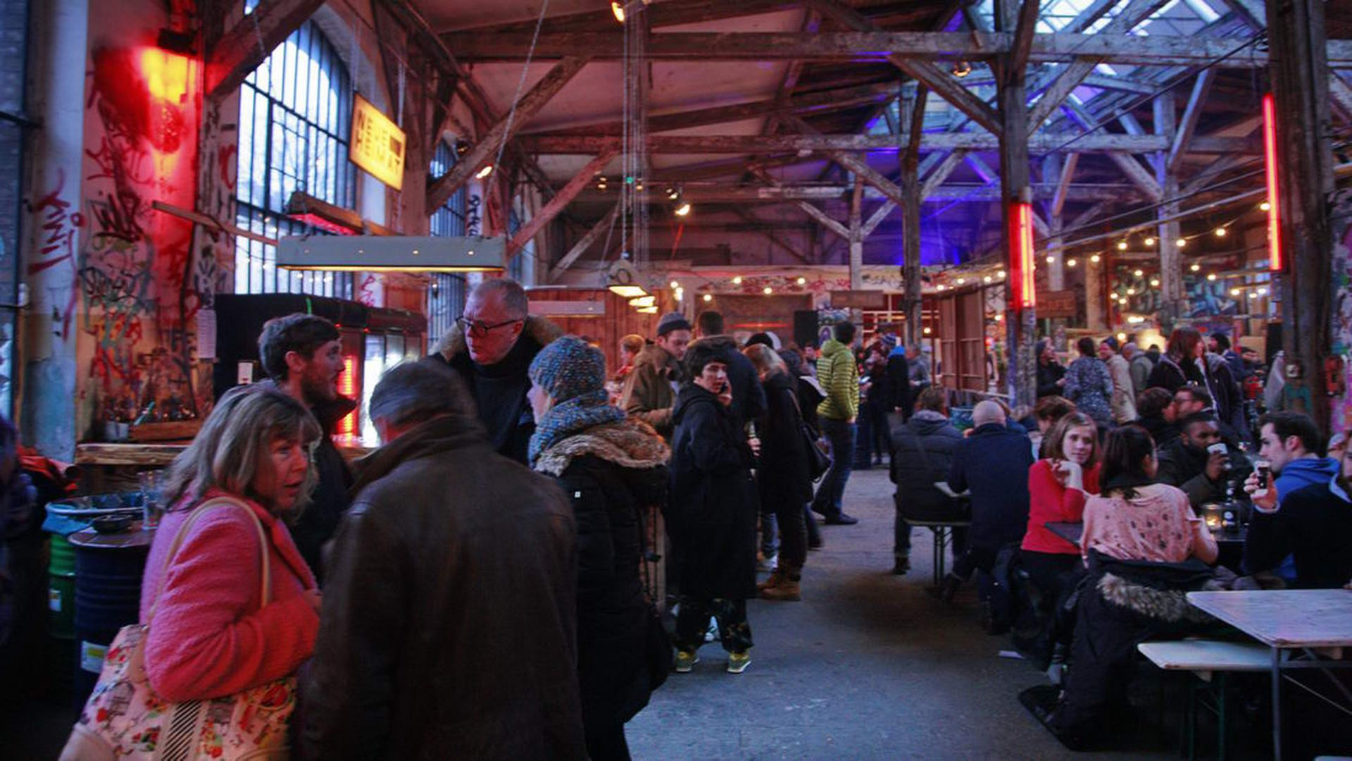 Neue Heimat - The Berlin Village Food Market Gregor Anthes
