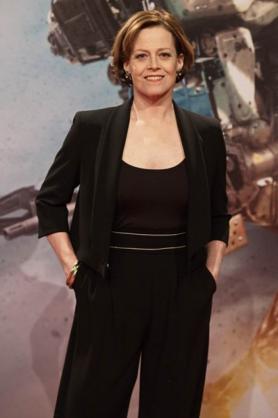 Sigourney Weaver -  Chappie Fanevent in der Mall of Berlin Gregor Anthes