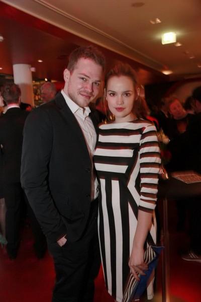 Emilia Schüle und Ben Muenchow erfreuten sich der netten Gesellschaft der professionellen Filmschaffenden aus den nordischen Ländern. Copyright: AntheZ Fotografie