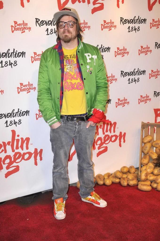 Nils Bokelberg  -  Premiere der Show REVOLUTION 1848 im Dungeon in Berlin am 18.03.2015 -  Foto: SuccoMedia / Ralf Succo