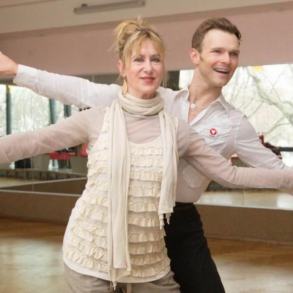 Beatrice Richter trainiert für Lets Dance  by Gregor Anthes