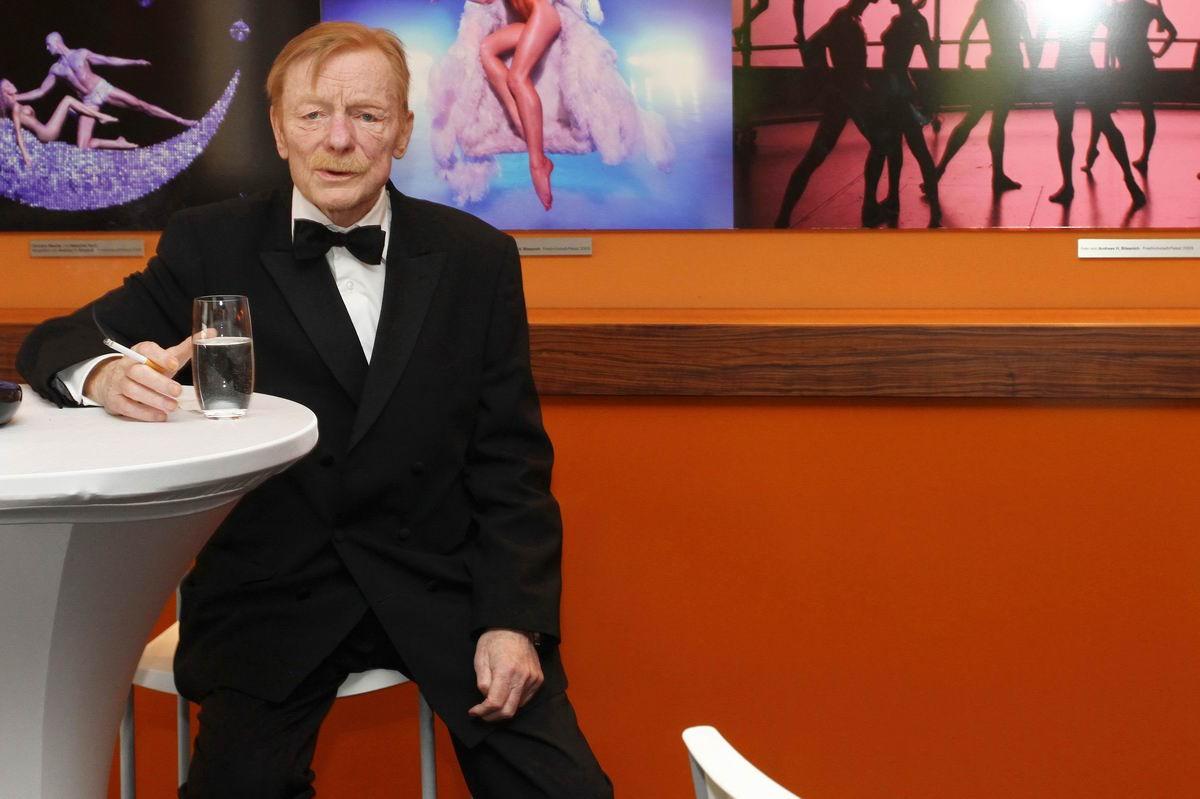 Otto Sander @ Deutscher Filmpreis 2012  by Gregor Anthes