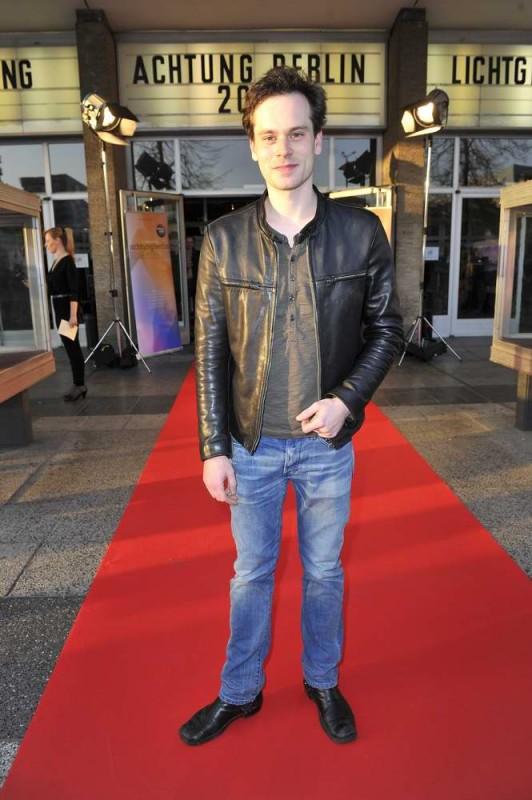 Florian Bartholomäi  -  Eröffnung achtung berlin Festival im Kino International  in Berlin  am 15.04.2015 -  Foto: SuccoMedia / Ralf Succo