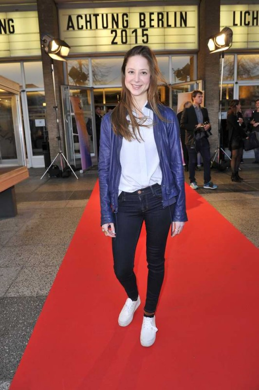 Sandra von Ruffin  -  Eröffnung achtung berlin Festival im Kino International  in Berlin  am 15.04.2015 -  Foto: SuccoMedia / Ralf Succo