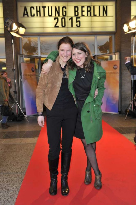 Sabine Curtius  ; Britta Steffenhagen  -  Eröffnung achtung berlin Festival im Kino International  in Berlin  am 15.04.2015 -  Foto: SuccoMedia / Ralf Succo