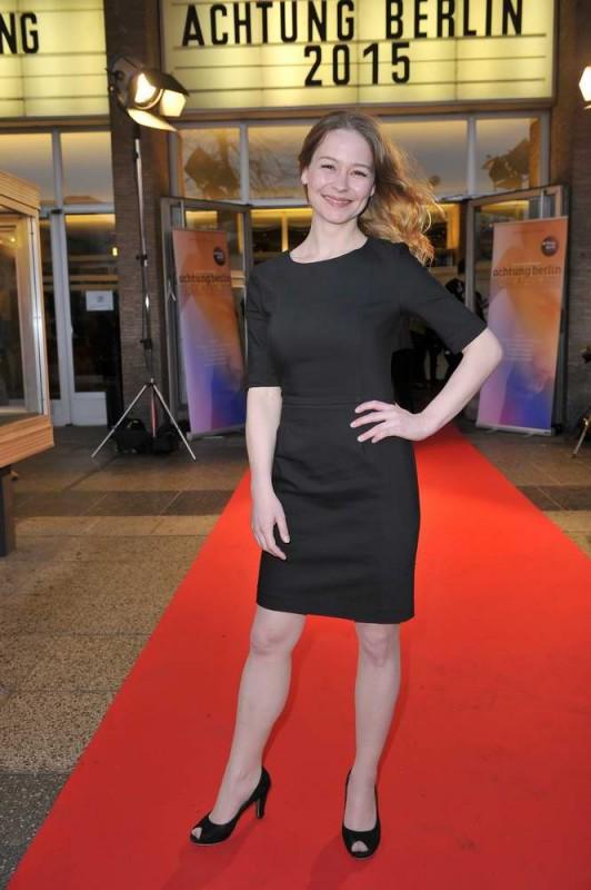 Theresa Scholze  -  Eröffnung achtung berlin Festival im Kino International  in Berlin  am 15.04.2015 -  Foto: SuccoMedia / Ralf Succo