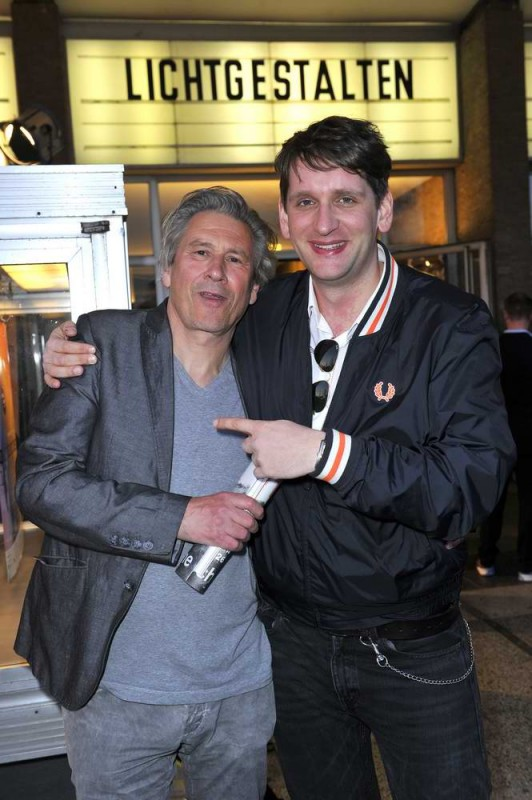 Sebastian Schwarz; Michael Kind  -  Eröffnung achtung berlin Festival im Kino International  in Berlin  am 15.04.2015 -  Foto: SuccoMedia / Ralf Succo