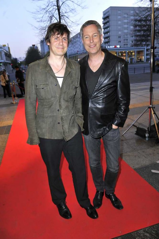 Wolfgang Macht; Thomas Hermanns  -  Eröffnung achtung berlin Festival im Kino International  in Berlin  am 15.04.2015 -  Foto: SuccoMedia / Ralf Succo