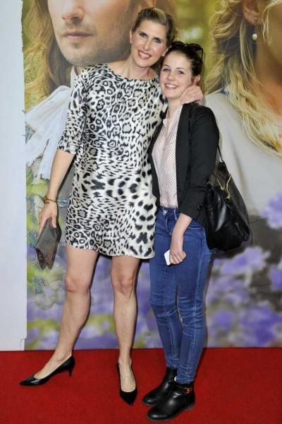 Paula Paul mit Tochter Romy  -   Premiere DIE GÄRTNERIN VON VERSAILLES im Kino in der Kulturbrauerei in Berlin  am 22.04.2015 -  Foto: SuccoMedia / Ralf Succo