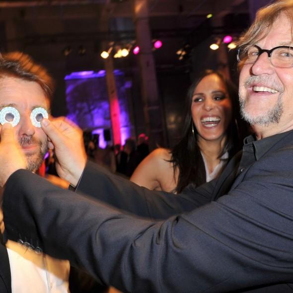 Bruno Eyron; Martin Krug  -  Verleihung DUFTSTARS 2015 im Kraftwerk Köpenicker Strasse  in Berlin  am 07.05.2015 -  Foto: SuccoMedia / Ralf Succo