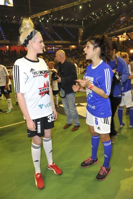 Sarah Knappik, Tanja Tischewitsch Sarah Knappik; Tanja Tischewitsch  -  KISS Cup in der Max-Schmeling-Halle in Berlin  am 22.05.2015 -  Foto: SuccoMedia / Ralf Succo