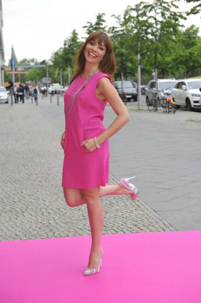 Jean Bork Jean Bork  -  Pink Ball Charity Event für Brustkrebs-Opfer im Holmes Place  in Berlin  am 23.05.2015 -  Foto: SuccoMedia / Ralf Succo