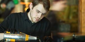 """Taste the Veuve Champagnertasting im Trust. ein neuer Veuve speziell zum mixen von Cocktails entwickelt wurde Berliner """"Szenevertretern"""" gereicht. ein Stimmungsvoller kommunikativer Abend."""