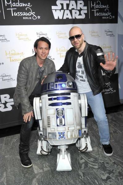 DJ Chino und Mateo (Culcha Candela) DJ Chino und Mateo (Culcha Candela)  -  Eröffnung  Ausstellung  Starwars @ Madame Tussauds in Berlin  am 11.05.2015 -  Foto: SuccoMedia / Ralf Succo