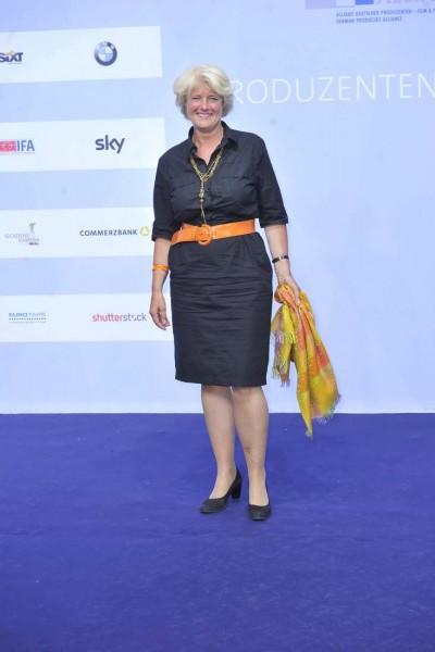 Monika Grütters Monika Grütters  -  Produzentenfest 2015 im Haus der Kulturen der Welt / Kongresshalle / Schwangere Auster     in Berlin  am 11.06.2015 -  Foto: SuccoMedia / Ralf Succo