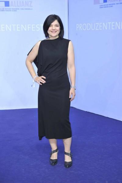 Jasmin Tabatabai Jasmin Tabatabai  -  Produzentenfest 2015 im Haus der Kulturen der Welt / Kongresshalle / Schwangere Auster     in Berlin  am 11.06.2015 -  Foto: SuccoMedia / Ralf Succo