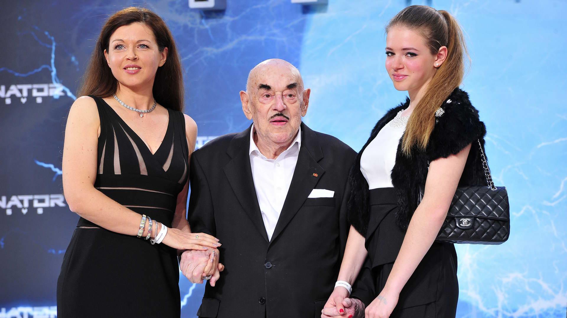 Artur Atze Brauner Artur Atze Brauner  -  Premiere TERMINATOR - GENISYS im Cinestar im Sonycenter  in Berlin  am 21.06.2015 -  Foto: SuccoMedia / Ralf Succo