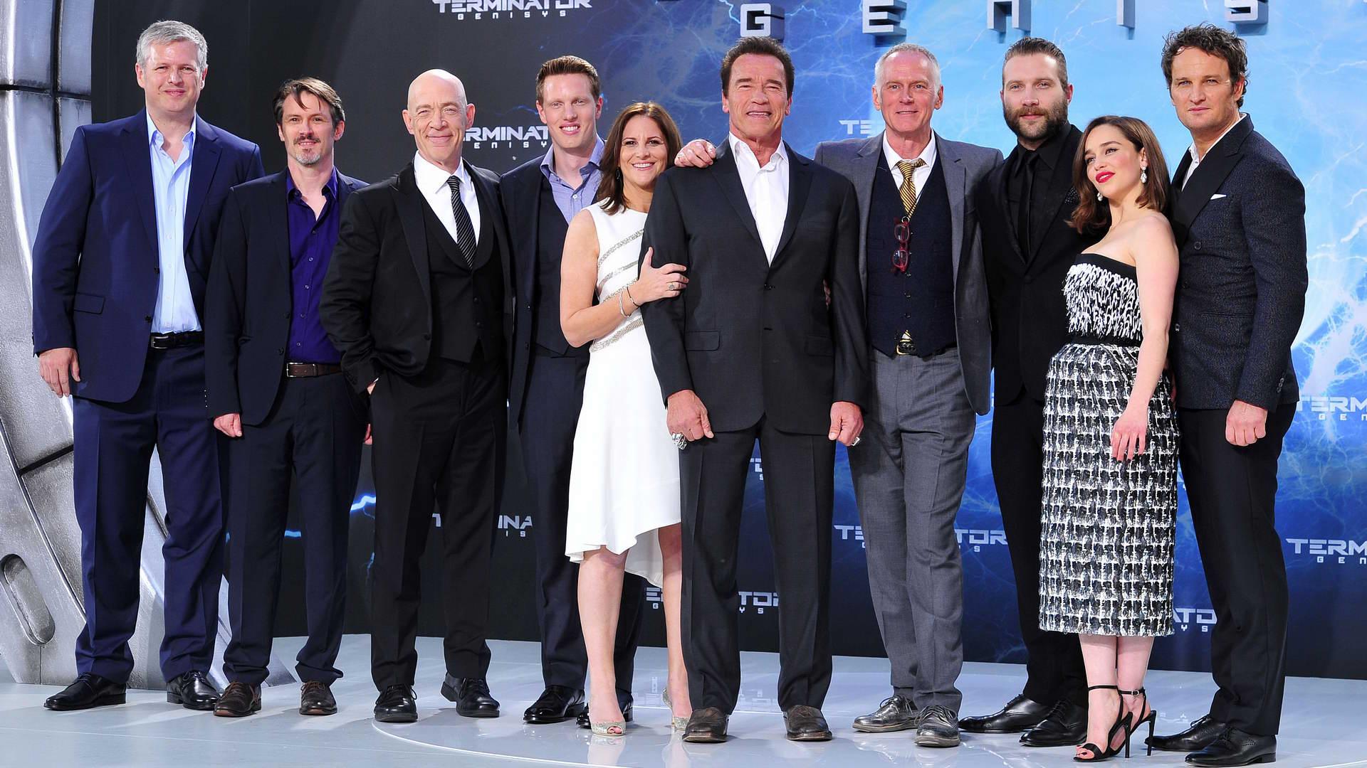 Cast Cast  -  Premiere TERMINATOR - GENISYS im Cinestar im Sonycenter  in Berlin  am 21.06.2015 -  Foto: SuccoMedia / Ralf Succo