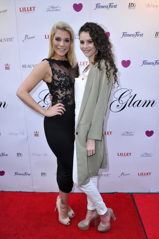 Annika Gassner, Betty Taube (GNTM) Annika Gassner; Betty Taube (GNTM)  -  GLAM NIGHT zur Eröffnung der Agentur GLAM MODELCOACHING  im Restaurant Manon in  Berlin  am 28.05.2015 -  Foto: SuccoMedia / Ralf Succo
