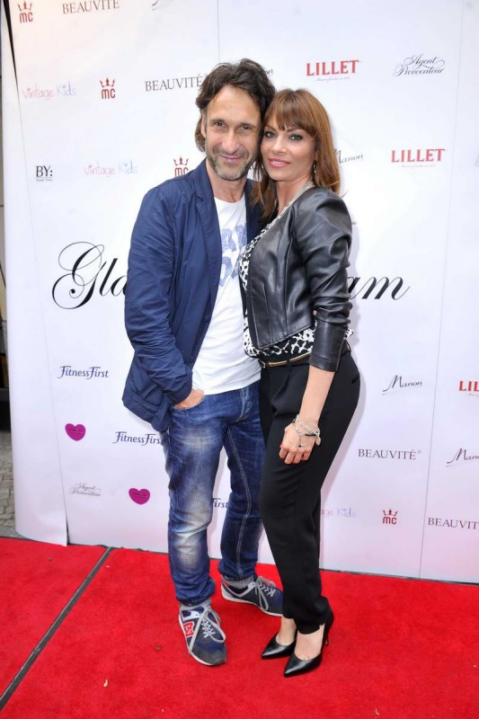 Falk Willy Wild, Jean Bork Falk Willy Wild; Jean Bork  -  GLAM NIGHT zur Eröffnung der Agentur GLAM MODELCOACHING  im Restaurant Manon in  Berlin  am 28.05.2015 -  Foto: SuccoMedia / Ralf Succo