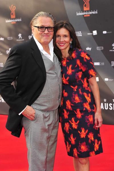 Michael und Karin Brandner Michael und Karin Brandner  -  Verleihung Deutscher Schauspielerpreis im Zoo Palast in  Berlin  am 29.05.2015 -  Foto: SuccoMedia / Ralf Succo