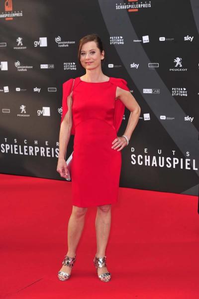 Inka Friedrich Inka Friedrich  -  Verleihung Deutscher Schauspielerpreis im Zoo Palast in  Berlin  am 29.05.2015 -  Foto: SuccoMedia / Ralf Succo