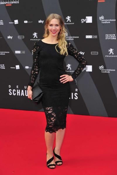 Julia Dietze Julia Dietze  -  Verleihung Deutscher Schauspielerpreis im Zoo Palast in  Berlin  am 29.05.2015 -  Foto: SuccoMedia / Ralf Succo