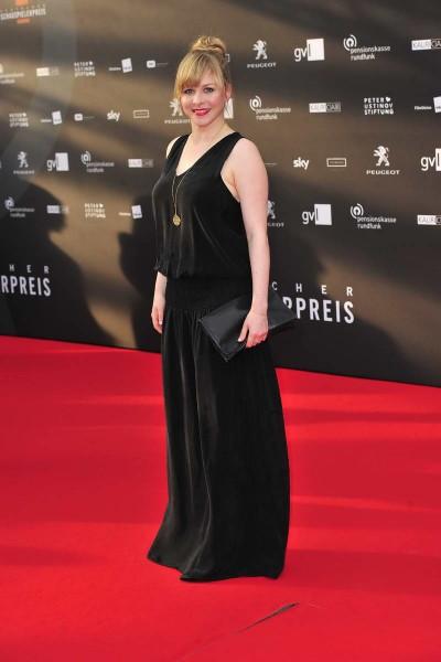 Jasmin Schwiers Jasmin Schwiers  -  Verleihung Deutscher Schauspielerpreis im Zoo Palast in  Berlin  am 29.05.2015 -  Foto: SuccoMedia / Ralf Succo