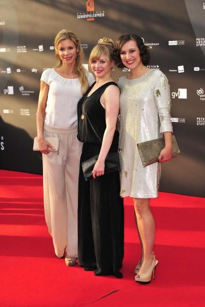 Nina Gnädig, Jasmin Schwiers, xx Nina Gnädig; Jasmin Schwiers; xx  -  Verleihung Deutscher Schauspielerpreis im Zoo Palast in  Berlin  am 29.05.2015 -  Foto: SuccoMedia / Ralf Succo