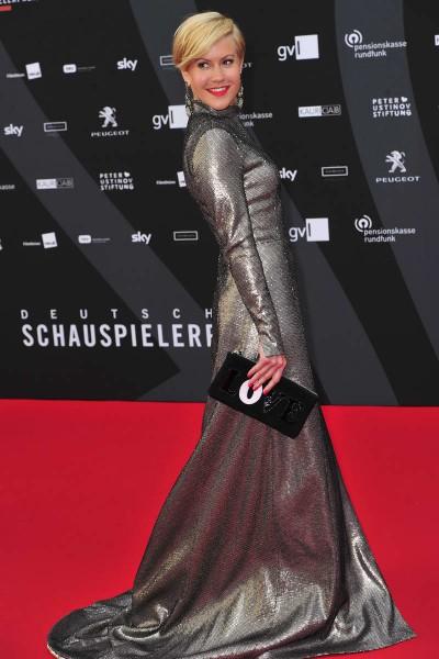 Wolke Hegenbarth Wolke Hegenbarth  -  Verleihung Deutscher Schauspielerpreis im Zoo Palast in  Berlin  am 29.05.2015 -  Foto: SuccoMedia / Ralf Succo
