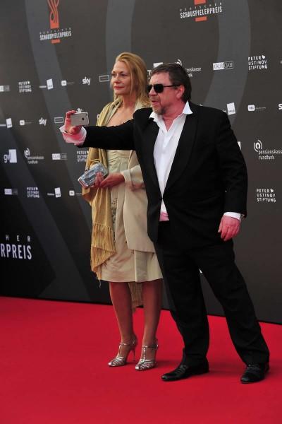 Armin Rohde, Karen Böhne Armin Rohde; Karen Böhne   -  Verleihung Deutscher Schauspielerpreis im Zoo Palast in  Berlin  am 29.05.2015 -  Foto: SuccoMedia / Ralf Succo