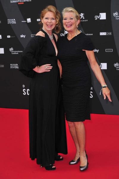 Marion Kracht, Jutta Speidel Marion Kracht; Jutta Speidel  -  Verleihung Deutscher Schauspielerpreis im Zoo Palast in  Berlin  am 29.05.2015 -  Foto: SuccoMedia / Ralf Succo