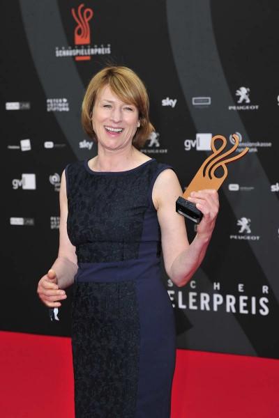 Corinna Harfouch Corinna Harfouch  -  Verleihung Deutscher Schauspielerpreis im Zoo Palast in  Berlin  am 29.05.2015 -  Foto: SuccoMedia / Ralf Succo