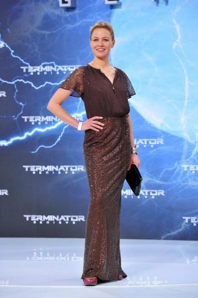 Julia Thurnau Julia Thurnau  -  Premiere TERMINATOR - GENISYS im Cinestar im Sonycenter  in Berlin  am 21.06.2015 -  Foto: SuccoMedia / Ralf Succo
