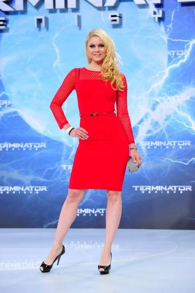 Yvonne Woelcke Yvonne Woelcke  -  Premiere TERMINATOR - GENISYS im Cinestar im Sonycenter  in Berlin  am 21.06.2015 -  Foto: SuccoMedia / Ralf Succo