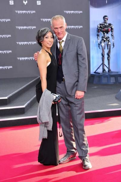 Jane Wu, Alan Taylor Jane Wu; Alan Taylor  -  Premiere TERMINATOR - GENISYS im Cinestar im Sonycenter  in Berlin  am 21.06.2015 -  Foto: SuccoMedia / Ralf Succo