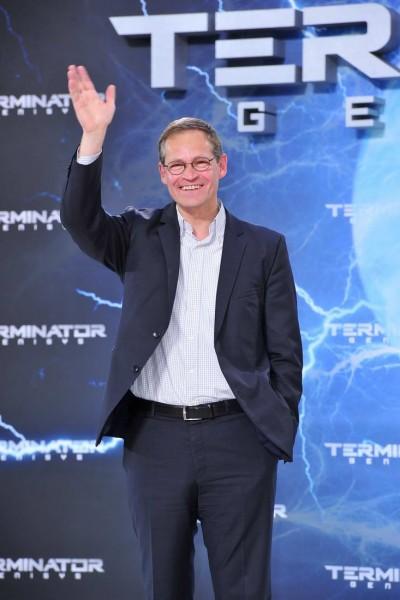 Michael Müller Michael Müller   -  Premiere TERMINATOR - GENISYS im Cinestar im Sonycenter  in Berlin  am 21.06.2015 -  Foto: SuccoMedia / Ralf Succo