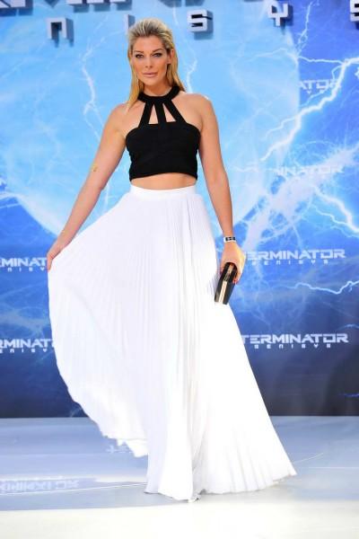 Annika Gassner Annika Gassner  -  Premiere TERMINATOR - GENISYS im Cinestar im Sonycenter  in Berlin  am 21.06.2015 -  Foto: SuccoMedia / Ralf Succo