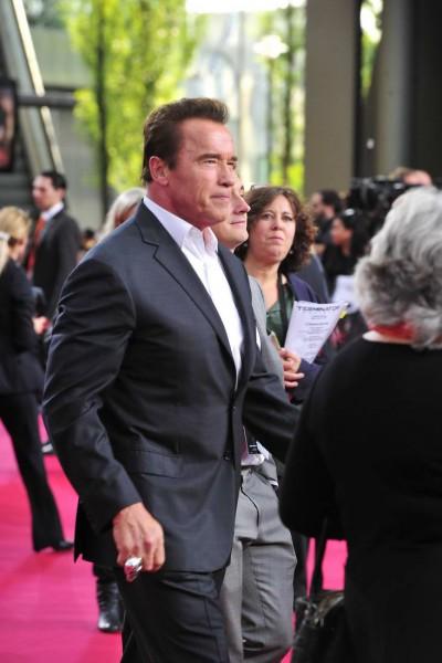 Arnold Schwarzenegger Arnold Schwarzenegger  -  Premiere TERMINATOR - GENISYS im Cinestar im Sonycenter  in Berlin  am 21.06.2015 -  Foto: SuccoMedia / Ralf Succo
