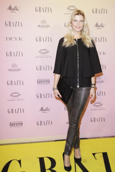 GRAZIA POP UP Tanja Bülter - Grazia Brunch im Rahmen der Mercedes-Benz Fashion Week Berlin Herbst / Winter 2016 / Autumn / Winter 2016 im /at Grosz Kurfürstendamm Berlin Copyright: Eventpress Anthes Datum 20.01.2016