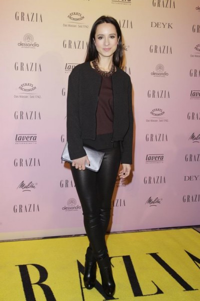 GRAZIA POP UP Stephanie Stumph - Grazia Brunch im Rahmen der Mercedes-Benz Fashion Week Berlin Herbst / Winter 2016 / Autumn / Winter 2016 im /at Grosz Kurfürstendamm Berlin Copyright: Eventpress Anthes Datum 20.01.2016