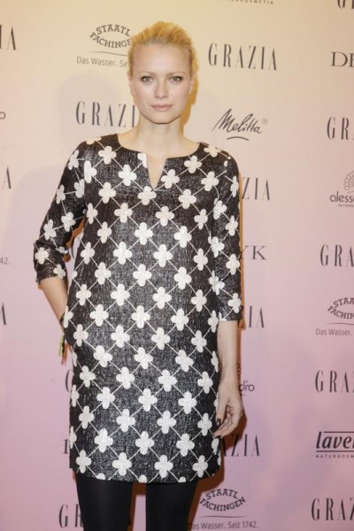 GRAZIA POP UP Franziska Knuppe - Grazia Brunch im Rahmen der Mercedes-Benz Fashion Week Berlin Herbst / Winter 2016 / Autumn / Winter 2016 im /at Grosz Kurfürstendamm Berlin Copyright: Eventpress Anthes Datum 20.01.2016