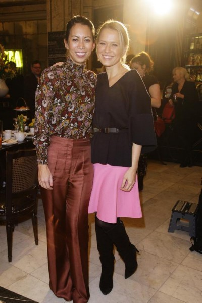 GRAZIA POP UP Minh-Khai Phan-Thi, Nova Meierhenrich - Grazia Brunch im Rahmen der Mercedes-Benz Fashion Week Berlin Herbst / Winter 2016 / Autumn / Winter 2016 im /at Grosz Kurfürstendamm Berlin Copyright: Eventpress Anthes Datum 20.01.2016