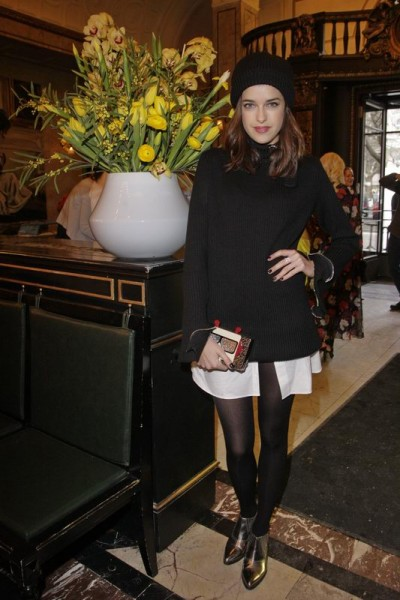GRAZIA POP UP Marie Nasemann - Grazia Brunch im Rahmen der  Mercedes-Benz Fashion Week Berlin Herbst / Winter 2016 / Autumn / Winter 2016  im /at Grosz Kurfürstendamm  Berlin   Copyright: Eventpress Anthes  Datum 20.01.2016