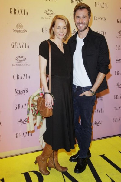 GRAZIA POP UP Jochen Schropp und ? - Grazia Brunch im Rahmen der  Mercedes-Benz Fashion Week Berlin Herbst / Winter 2016 / Autumn / Winter 2016  im /at Grosz Kurfürstendamm  Berlin   Copyright: Eventpress Anthes  Datum 20.01.2016