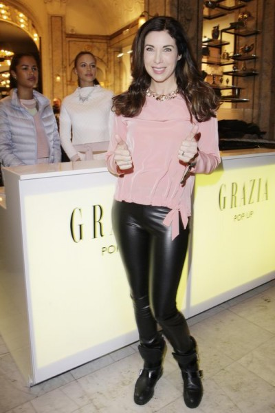 GRAZIA POP UP Alexandra Polzin - Grazia Brunch im Rahmen der  Mercedes-Benz Fashion Week Berlin Herbst / Winter 2016 / Autumn / Winter 2016  im /at Grosz Kurfürstendamm  Berlin   Copyright: Eventpress Anthes  Datum 20.01.2016