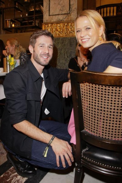 GRAZIA POP UP Jochen Schropp und Nova Meierhenrich - Grazia Brunch im Rahmen der  Mercedes-Benz Fashion Week Berlin Herbst / Winter 2016 / Autumn / Winter 2016  im /at Grosz Kurfürstendamm  Berlin   Copyright: Eventpress Anthes  Datum 20.01.2016